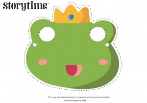 storytime_kids_magazine_free_downloads_frog_masks_www.storytimemagazine.com/free-downloads