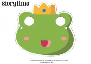 storytime_kids_magazine_free_downloads_frog_masks_www.storytimemagazine.com/free-downloads