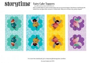 storytime_kids_magazines_free_downloads_fairy_cake_toppers_www.storytimemagazine.com