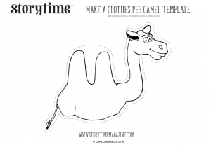 storytime_kids_magazines_free_printables_clothes_peg_camel_www.storytimemagazine.com/free-downloads