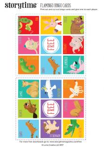 storytime_kids_magazines_free_printables_flamingo_bingo_cards_www.storytimemagazine.com