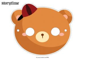 storytime_kids_magazines_free_printables_goldilocks_bears_masks_www.storytimemagazine.com/free-downloads