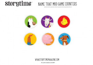 storytime_kids_magazines_free_printables_name_that_moo_game_counters_www.storytimemagazine.com/free-downloads