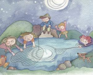 Folktales for kids, april fools, fool folktales, funny stories for kids, bedtime stories, storytime magazine
