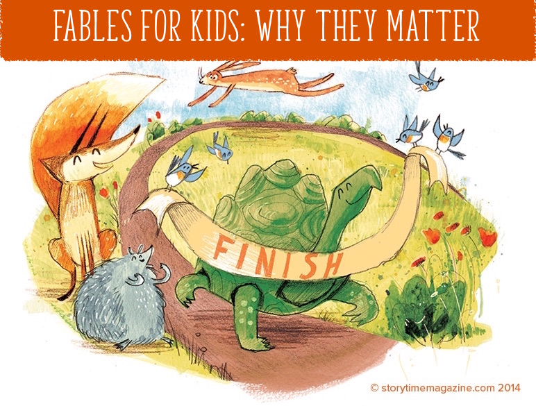 Fables for kids, storytime magazine, magazine subscriptions for kids