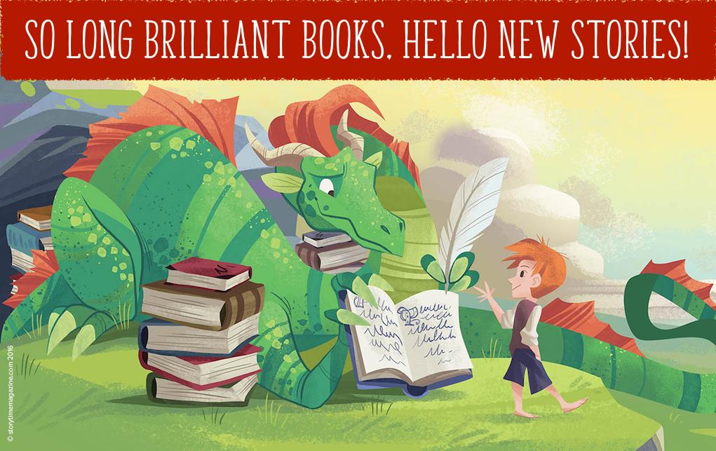 brilliant books, new stories for kids, storytime magazine, magazine subscriptions for kids, kids magazine subscriptions, the reluctant dragon, kenneth grahame