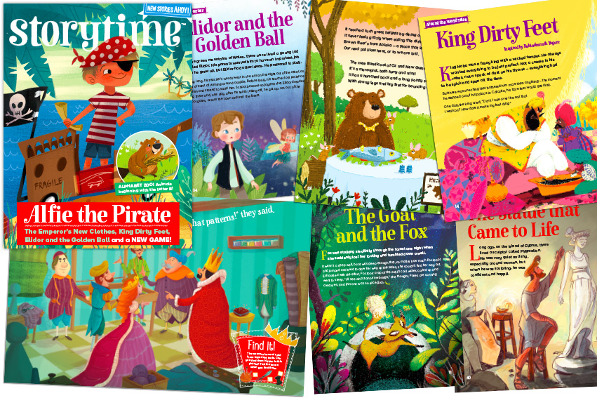 Storytime Issue 30 Out Now, best bedtime stories for kids, magazine subscriptions for kids