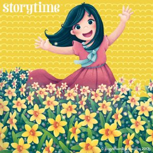 storytime magazine, easter stories for kids, william wordsworth, daffodills, kids magazine subscriptions