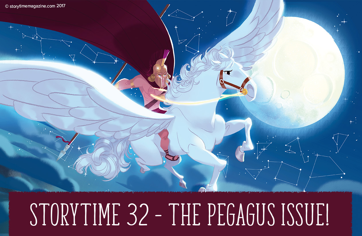 Storytime Issue 32 starring Pegasus & more amazing stories