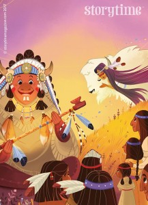 kids magazine subscriptions, magazine subscriptions for kids, storytime magazine, best bedtime stories, native american folktales
