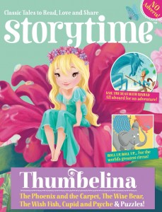kids magazine subscriptions, storytime magazine, tom thumb resource pack, little heroes for little readers, fairytales