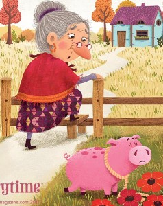 kids magazine subscriptions, magazine subscriptions for kids, best kids magazines, old woman and her pig, storytime issue 35, storytime magazine, stories for kids