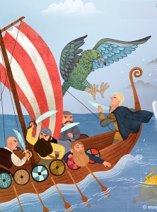 Storytime Issue 35, The Sampo, Finnish myth, Ana Varela, kids magazine subscriptions, mag subscriptions for kids, kids mags, best bedtime stories, myths for kids