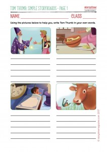 Tom Thumb Resource Pack, Storytime magazine, magazine subscriptions for kids