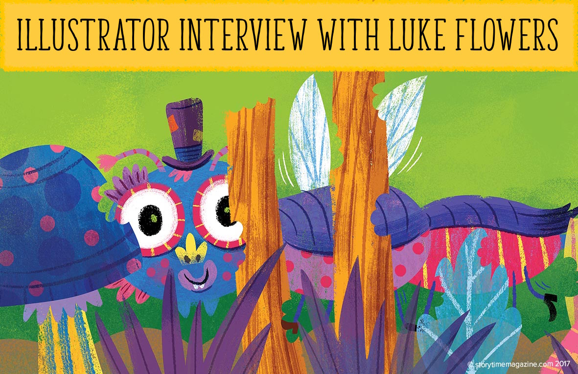 Illustrator Interview: Luke Flowers, storytime, magazines for kids, kids magazine, magazine subscriptions for kids, gift subscriptions for kids, gift ideas for kids, christmas gifts for kids