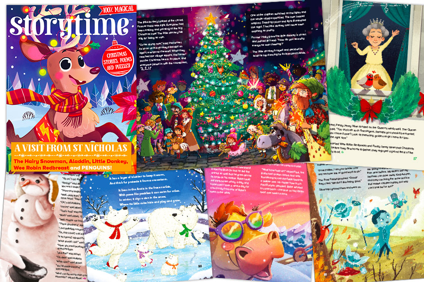 Christmas Stories For Kids.Storytime Christmas Issue 40 Christmas Stories And Poems