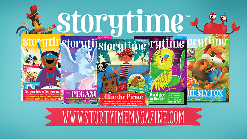 Kids magazine subscriptions, magazine subscriptions for kids, gift subscriptions for kids, UK's favourite story magazine, storytime submissions, submission guidelines