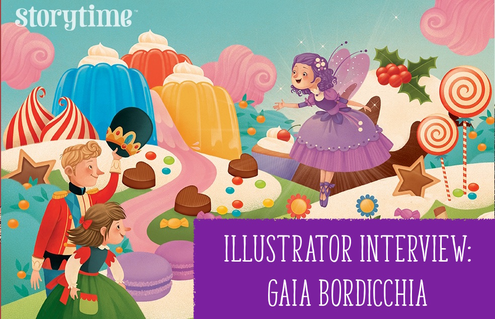kids magazine subscriptions, magazine subscriptions for kids, storytime magazine, illustrator interview gaia bordicchia