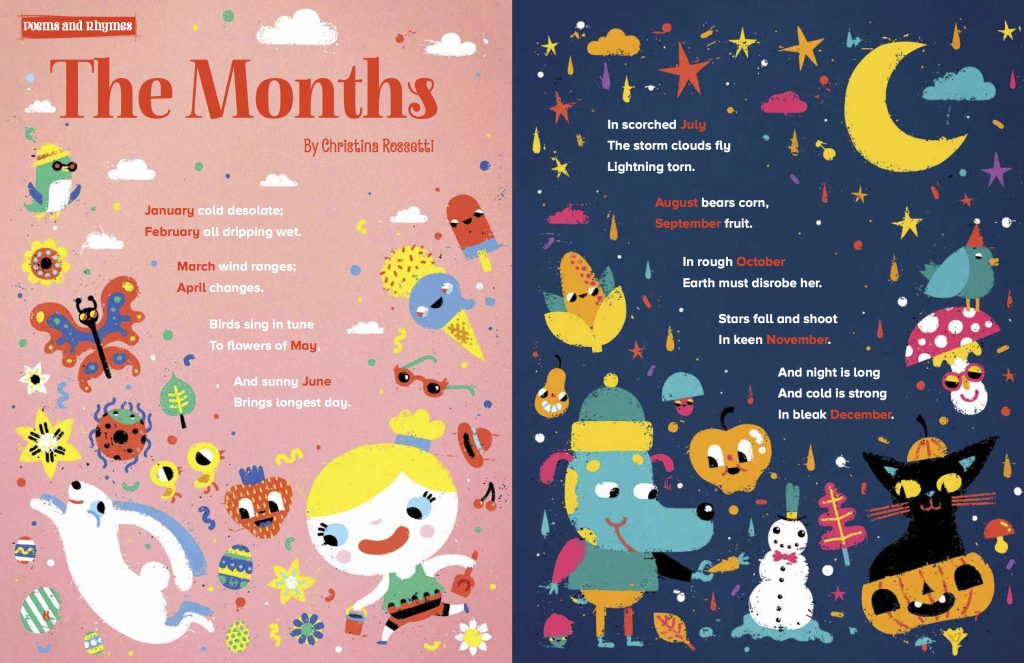 A Story for Every Month of the Year | Storytime Magazine | Stories