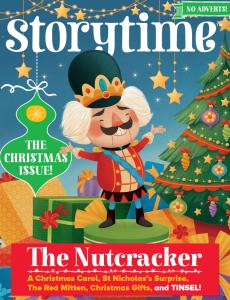 kids magazine subscriptions, Illustrator Interview Gaia Bordicchia, storytime magazine, Nutcracker