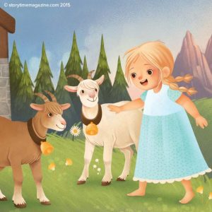 kids magazine subscriptions, magazines for kids, stories for kids, Storytime magazine, Illustrator Interview Gaia Bordicchia