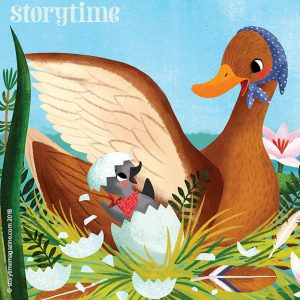 kids magazine subscriptions, storytime magazine, storytime issue 43 - out now, ugly duckling, hans christian andersen
