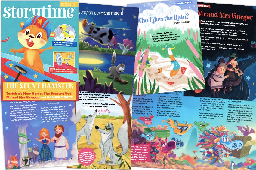 kids magazine subscriptions, magazine subscriptions for kids, Storytime 44, children's magazines, gift subscriptions for kids, bedtime stories