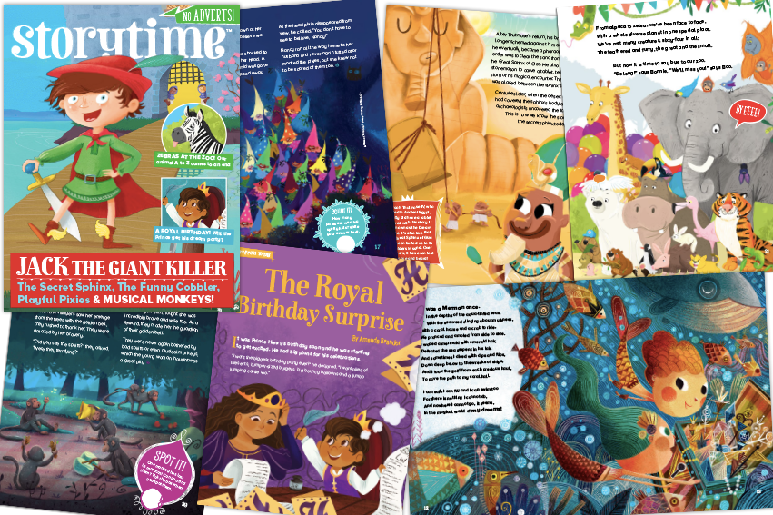 Storytime Issue 45, Storytime 45, Storytime, story magazine, magazines for kids, kids magazine subscriptions