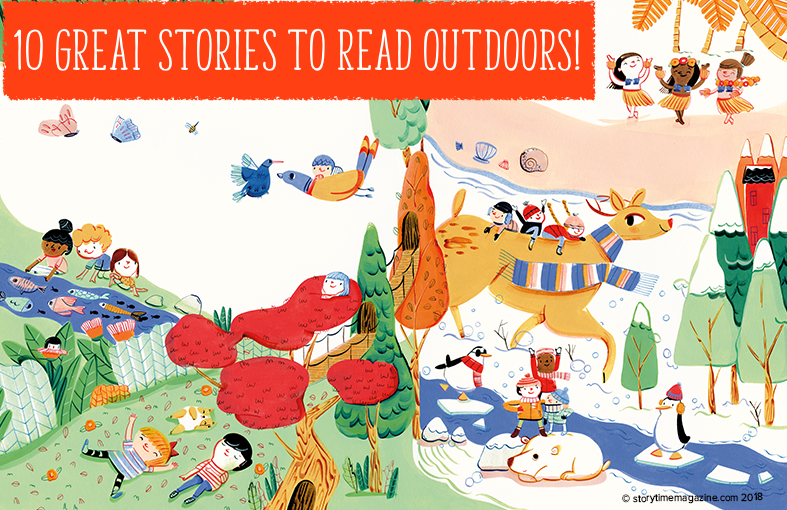 kids magazine subscriptions, magazine subscriptions for kids, read outdoors, outdoor learning