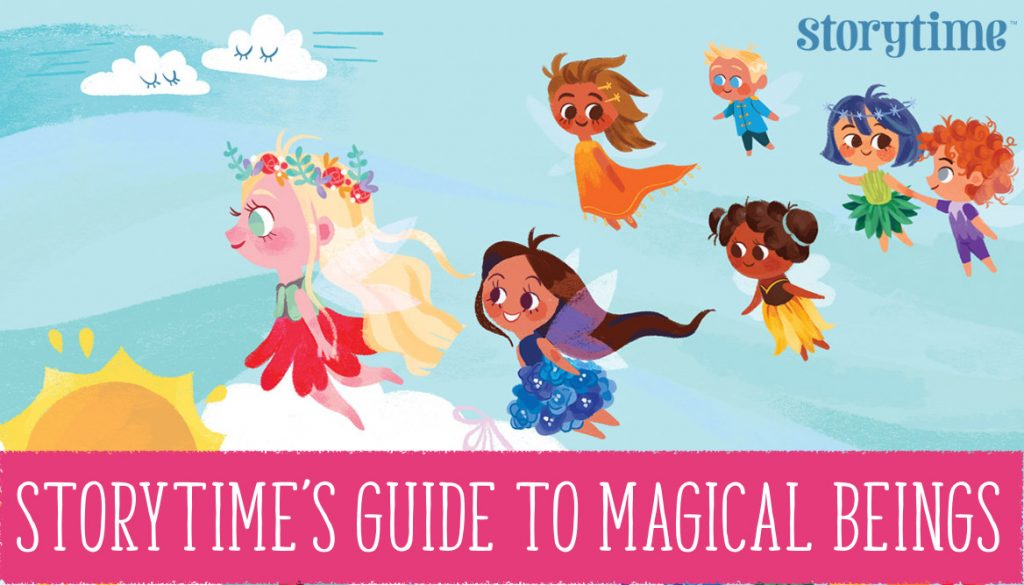 Storytime's guide to magical beings, kids magazine subscriptions, magazine subscriptions for kids, magical creatures, bedtime stories, story magazine