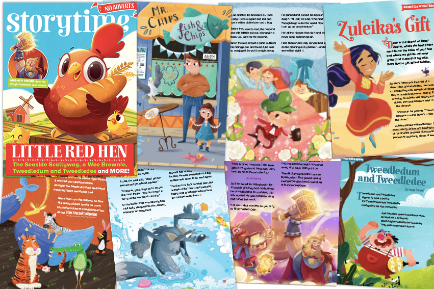 Storytime 47, Storytime Issue 47, kids magazine subscriptions, bedtime stories, stories for kids, children's story magazine, magazine subscriptions for kids
