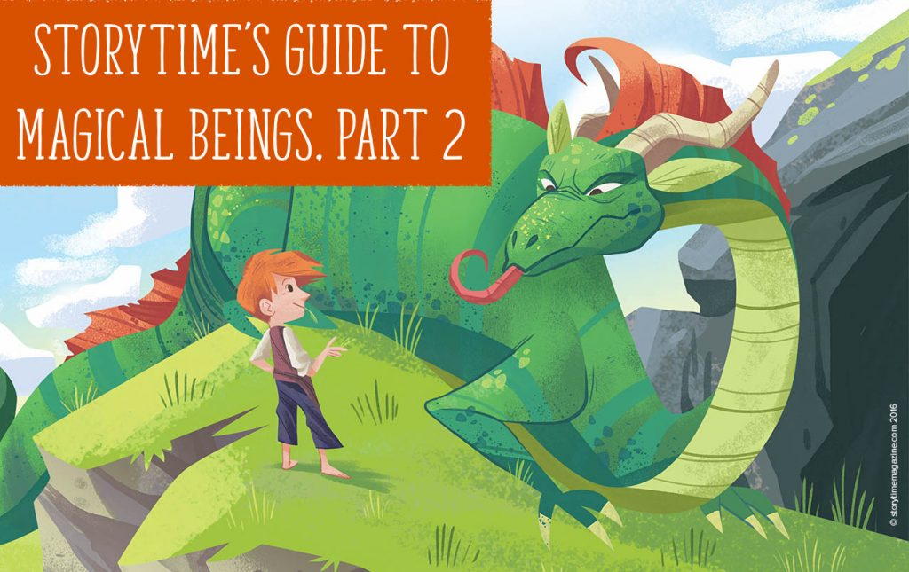 storytime's guide to magical beings part 2, storytime magazine, kids magazine subscriptions