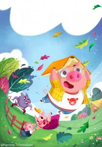 Kids magazine subscriptions, magazine subscriptions for kids, Storytime magazine, Illustrator Interview with Giorgia Broseghini