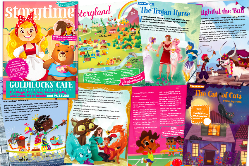kids magazine subscriptions, Storytime Issue 49, magazine subscriptions for kids, Storyland Adventures