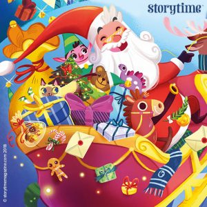 Illustrator interview with Giorgia Broseghini, Storytime Christmas issue, Storytime Issue 40, kids magazine subscription