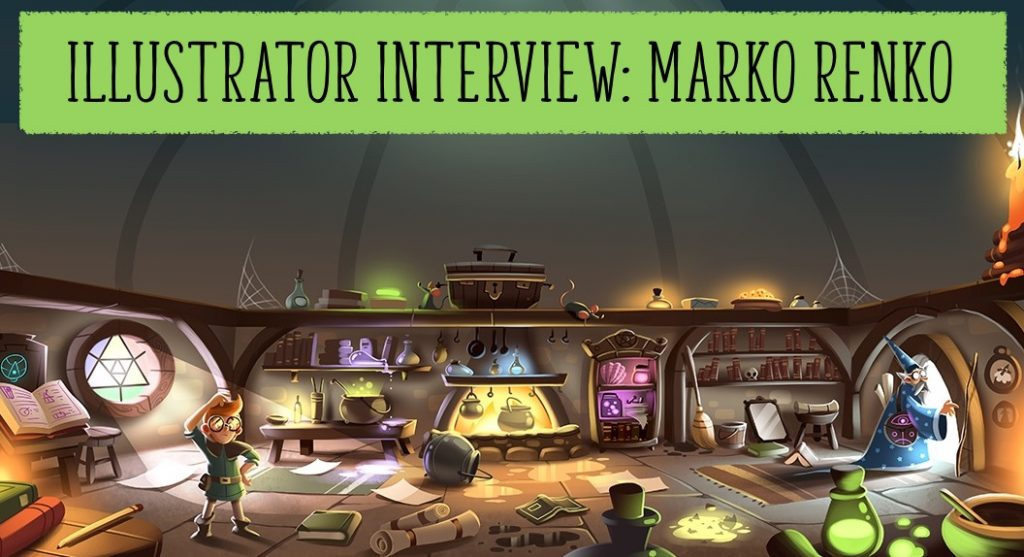 Illustrator Interview with Marko Renko, Marko Renko, Storytime magazine, storytime, kids magazine subscriptions, magazine subscriptions for kids