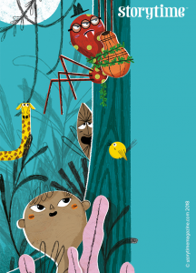 Storytime issue 51, Anansi, kids magazine subscriptions,