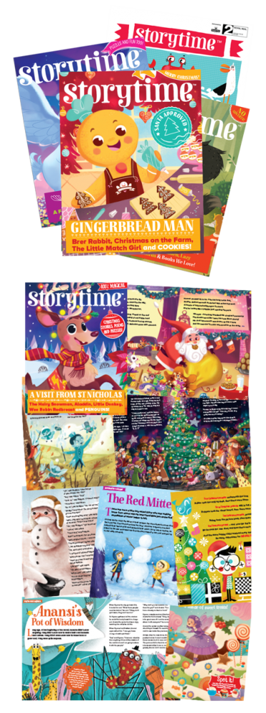 Give a Storytime Subscription for Christmas