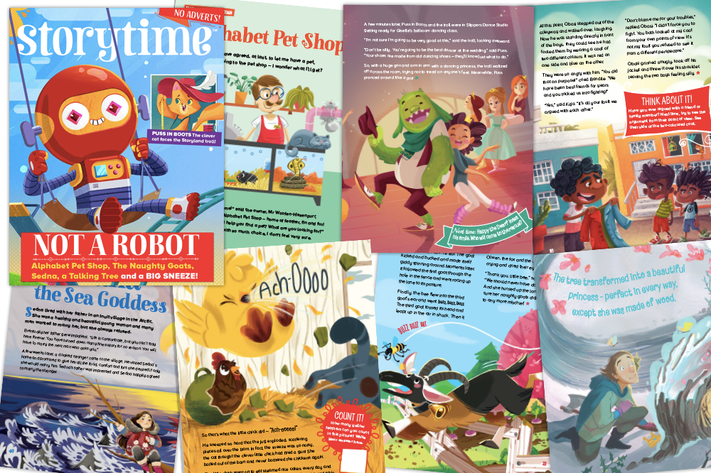 Storytime Issue 53, kids magazine subscriptions