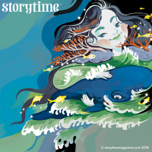 Storytime Issue 53, Inuit myth, Sedna