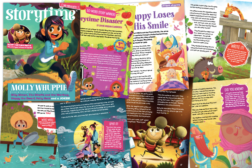 kids magazine subscriptions, Storytime Issue 54 is out now, Storytime Issue 54,