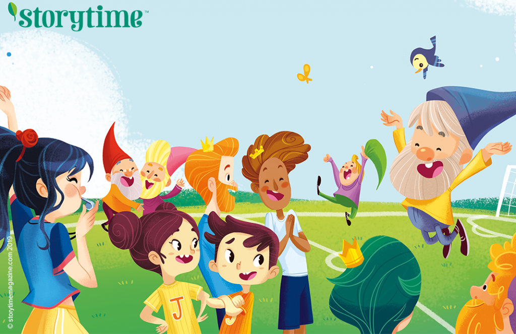 Storytime Issue 54, kids magazine subscriptions, magazine subscriptions for kids, seven dwarfs