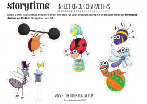 storytime-kids-magazine-free-download-insect-circus_www.storytimemahgazine.com/free-downloads