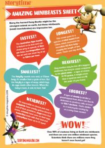 storytime-kids-magazine-free-download-minibeast-facts_www.storytimemagazine.com/free-downloads