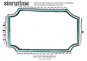 storytime-kids-magazine-free-download-dragon-frame_www.storytimemagazine.com/free-downloads